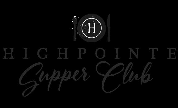 HighPointe Supper Club Logo Black