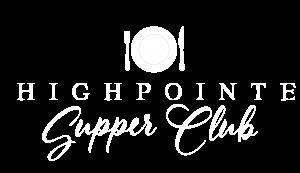 HighPointe Supper Club Logo White